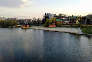 Миргород. Пляж