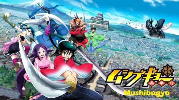 Mushibugyou - Daftar Anime Samurai Terbaik Sepanjang Masa