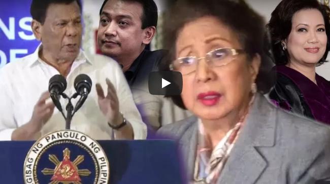 WATCH: Duterte Halos Maluha Sa Galit Kay Ombudsman Morales Chief Justice Sereno At Trillanes