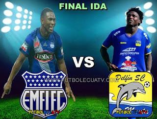 Emelec vs Delfín - Miércoles 13 de Diciembre del 2017 - Partido Final Ida