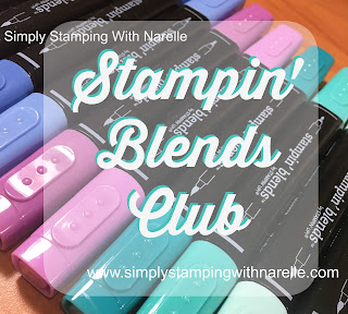Learn how to colour with the latest alcohol markers on the market - Stampin' Blends - Learn more here - http://www.simplystampingwithnarelle.com/p/stampin-blends-club.html