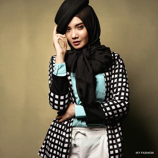 gaya casual para hijabers