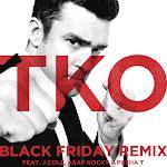 Justin Timberlake - Tko (feat. J Cole, A$AP Rocky & Pusha T) [Black Friday Remix] - Single Cover