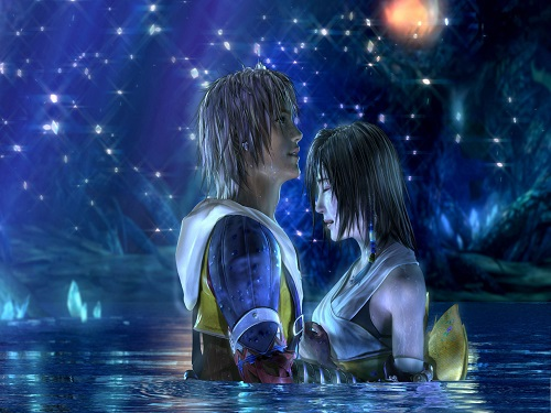 Top 10 Epic Video Game Romances That Will Level Up Your Heart, Final Fantasy X ( Tidus and Yuna )