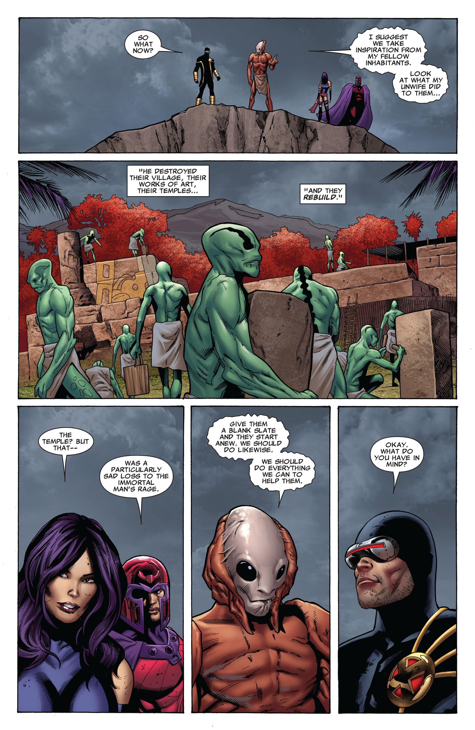 Read online Uncanny X-Men (2012) comic -  Issue #8 - 16