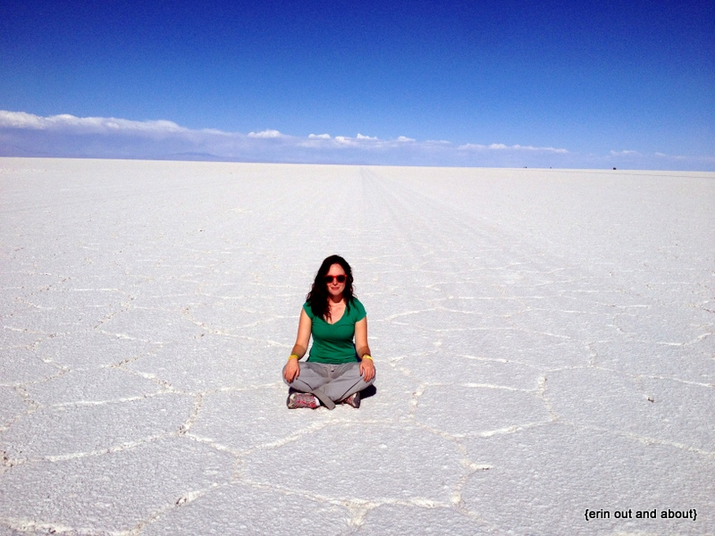 {Erin Out and About} Salar de Uyuni