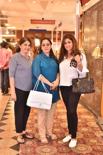 Kiran Sachdev, Poonam Verma and Vandana Sachdev