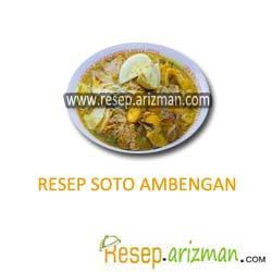 Resep Soto Ambengan Masakan Indonesia