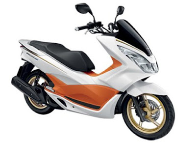 Honda PCK 150 White-Orange