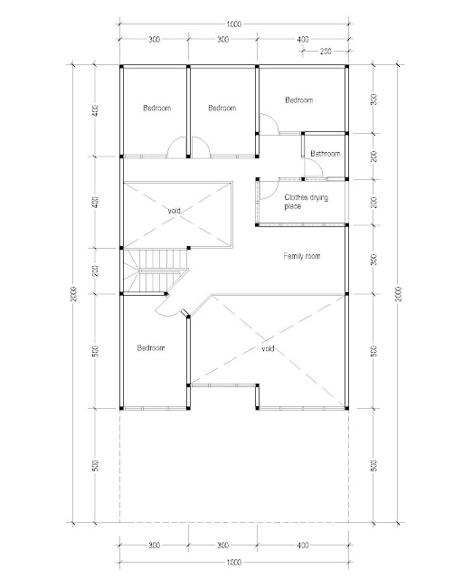 2nd Floor Plan for Plan c-09