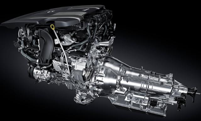 2018 Lexus LS Engine