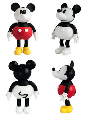 Mickey Mouse Sofubi Vinyl Figures by Dune x Disney
