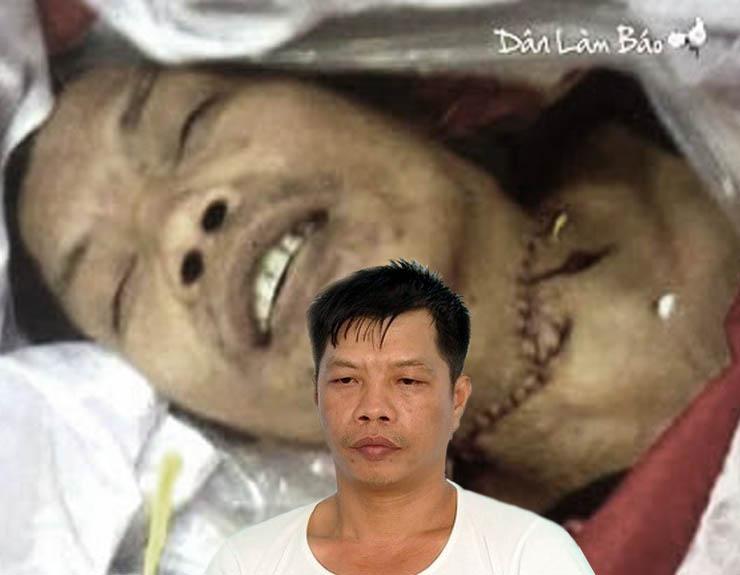 Image result for Anh Tấn bị cắt cổ trong đồn công an