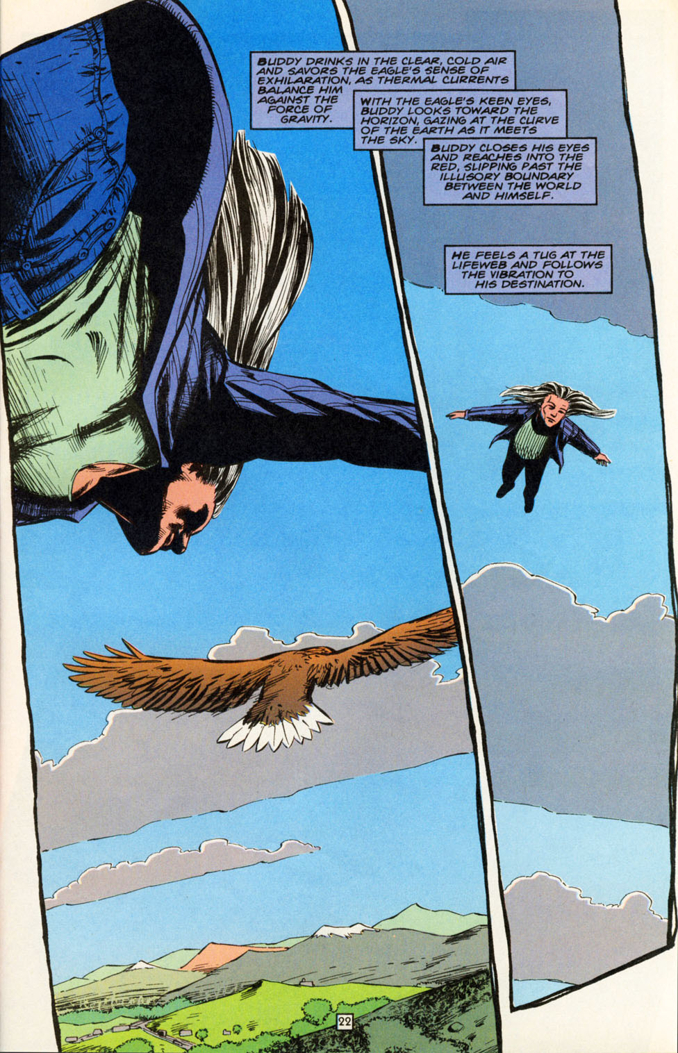 Read online Animal Man (1988) comic -  Issue #82 - 23