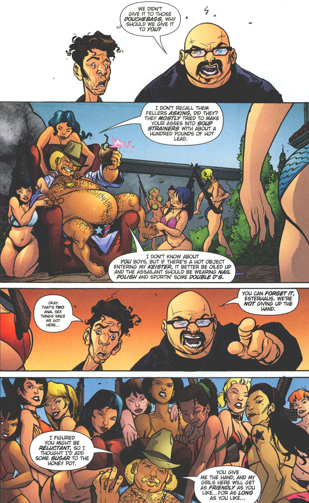 Read online Caper comic -  Issue #11 - 15