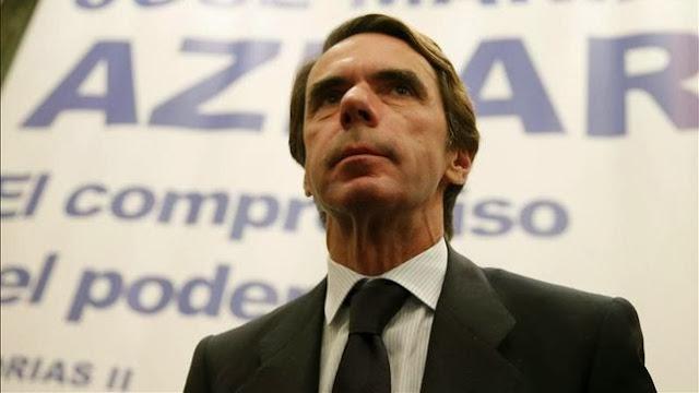 Aznar reaparece en campaña para cargar contra Pedro Sánchez en Barcelona