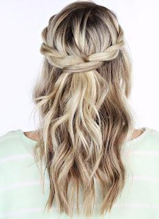 Arkadan Birleştirmeli Saç Örgüsü Modeli, Saç Örgü Modelleri, Resimli Anlatımlı, Saç Örgüsü Modelleri, Saç Örgüleri Ve Yapılışları, Arkadan Bağlamalı, Kullanılan Saç Örme Teknikleri, kadin, Balık Kılçığı, Şelale Saç,