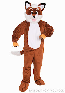 What does the Fox say? Suit for Furries