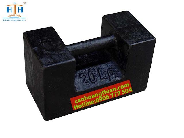 quả cân chuẩn m1 20 kg chất liệu gang
