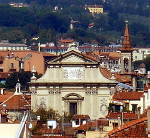 The Church of San Marco in Florence is close to where the fiery priest Girolamo Savonarola lived