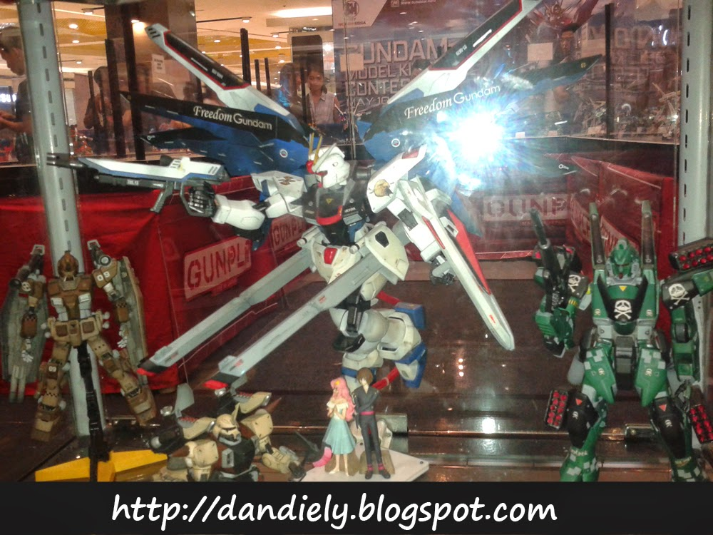 Freedom Gundam - Gunpla - Gundam Model Kit Contest 2014 Philippines