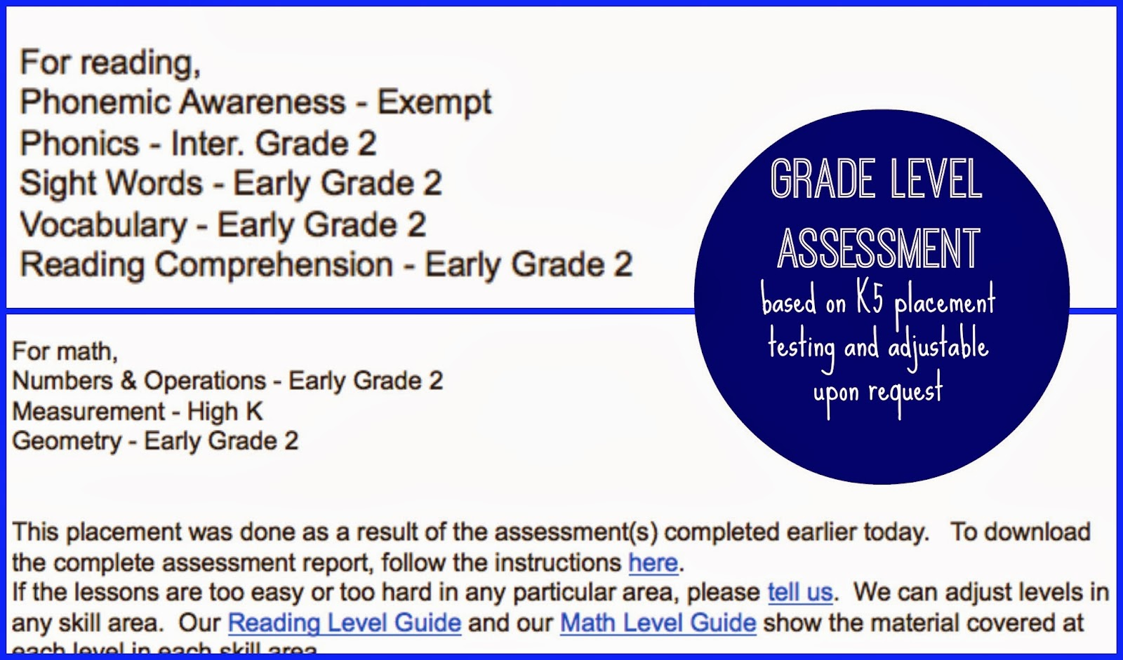 K5 Learning Reading Comprehension Grade 2