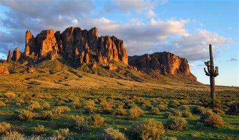 Superstition Mountains - Phoenix, Arizona