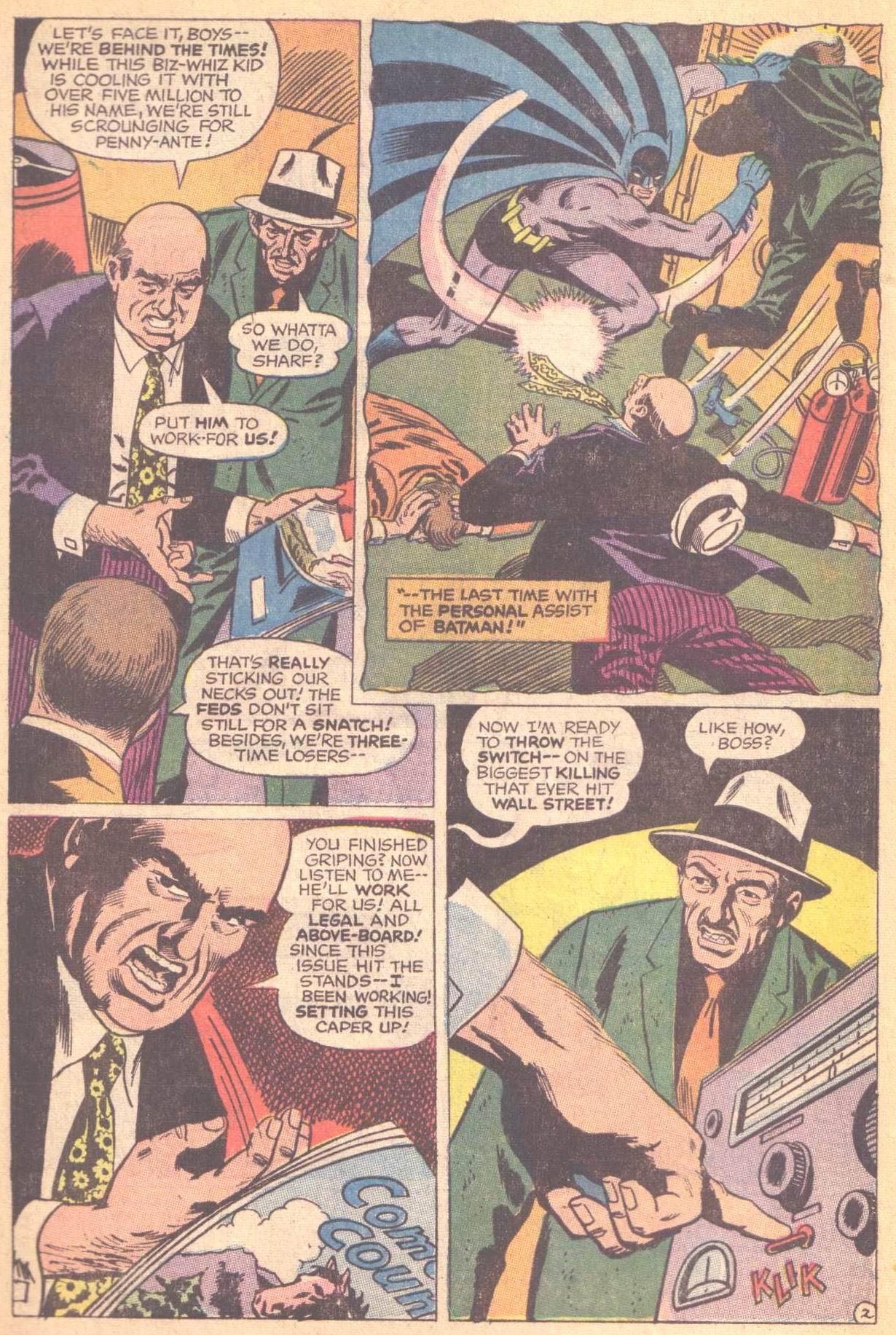 Detective Comics (1937) 396 Page 3
