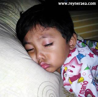 rutinitas anak sebelum tidur
