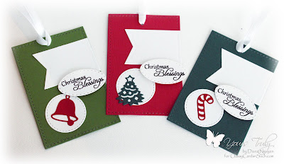 Diana Nguyen, Christmas, Tag, Impression Obsession, Christmas Icons