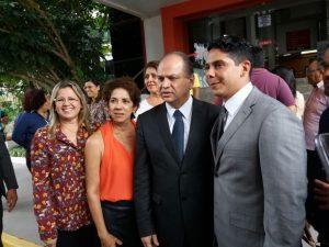 Vice-prefeito de Caxias e secretária de Saúde participam em São Luis de encontro com ministro da Saúde