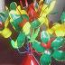 DIY: Flowers Made of Plastic Bottles