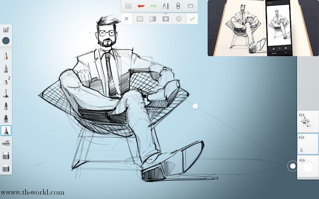 تحميل تطبيقAutodesk Sketchbook لرسم بحتراف لاجهزة الاندرويد