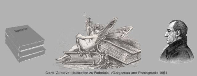 Goethe mit Bücher