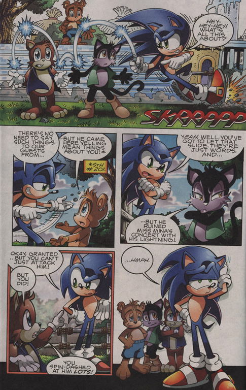 Read online Sonic The Hedgehog comic -  Issue #203 - 3