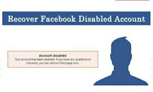 How To Recover Your Disabled Facebook Account » NupeBaze