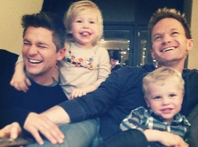 Neil Patrick Harris new family photo