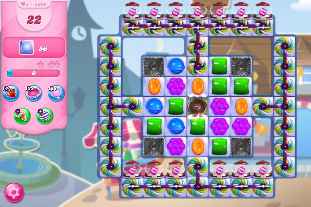 Candy Crush Saga level 5696