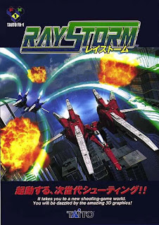 RayStorm arcade game portable flyer