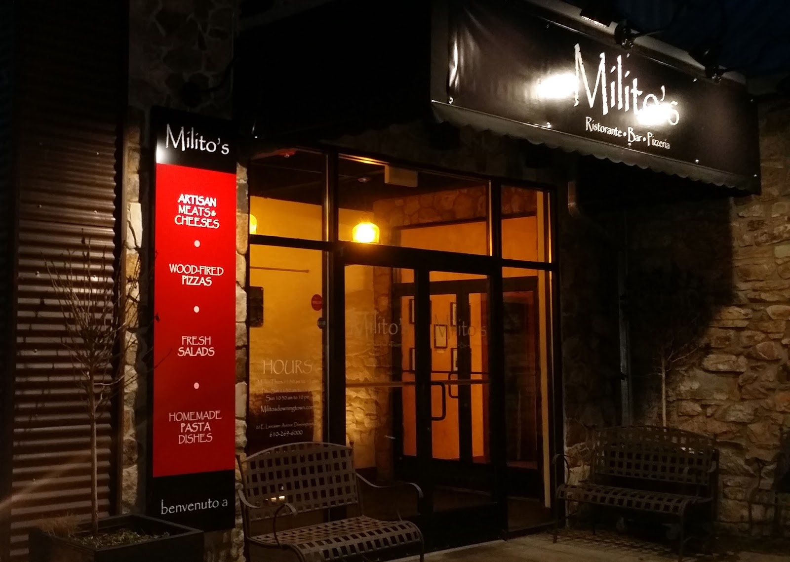 Pizza Quixote: Review: Milito\'s Bar-Ristorante-Pizzeria, Downingtown PA