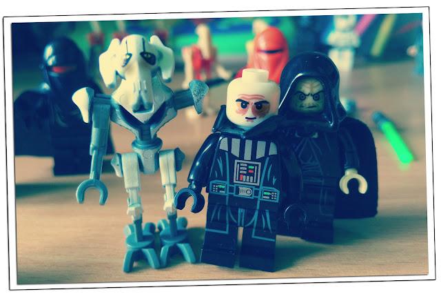 Генерал Гривус и Дарт Вейдер фигурки лего Звездные войны купить