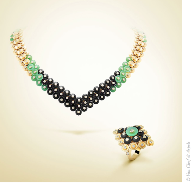 Van Cleef & Arpel's Latest Bouton d'Or Collection