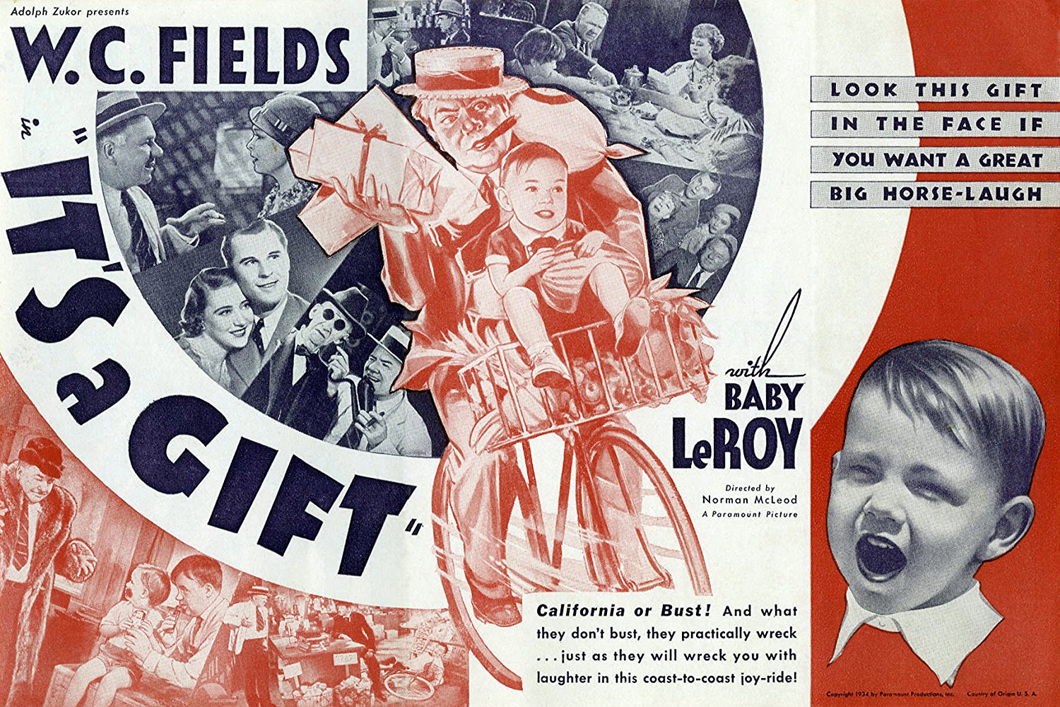 Seeing Is Believing Movie Review It S A Gift 1934