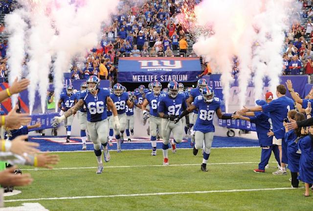 Jogo do Giants em Nova York