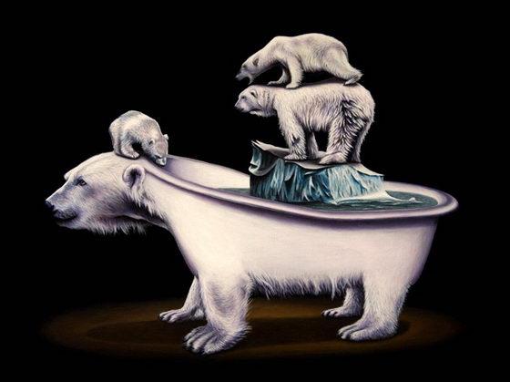 Bizarre Animal Paintings-9