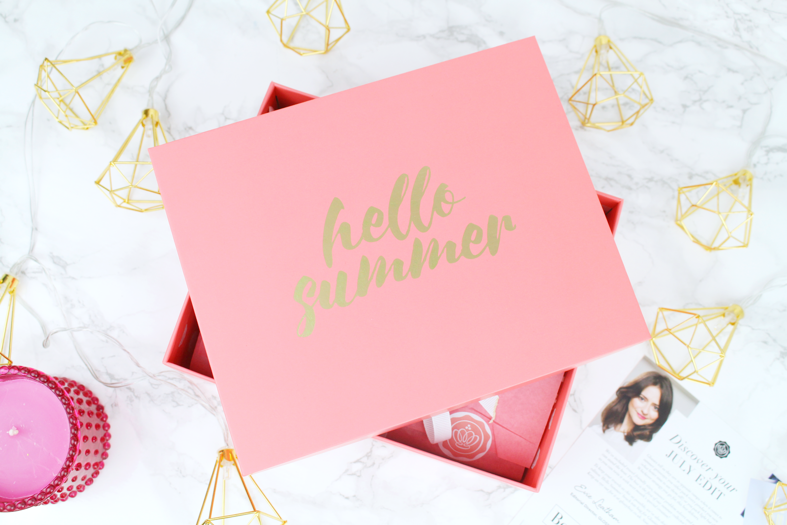 Glossybox | July 2017. Hello My Lovelies,