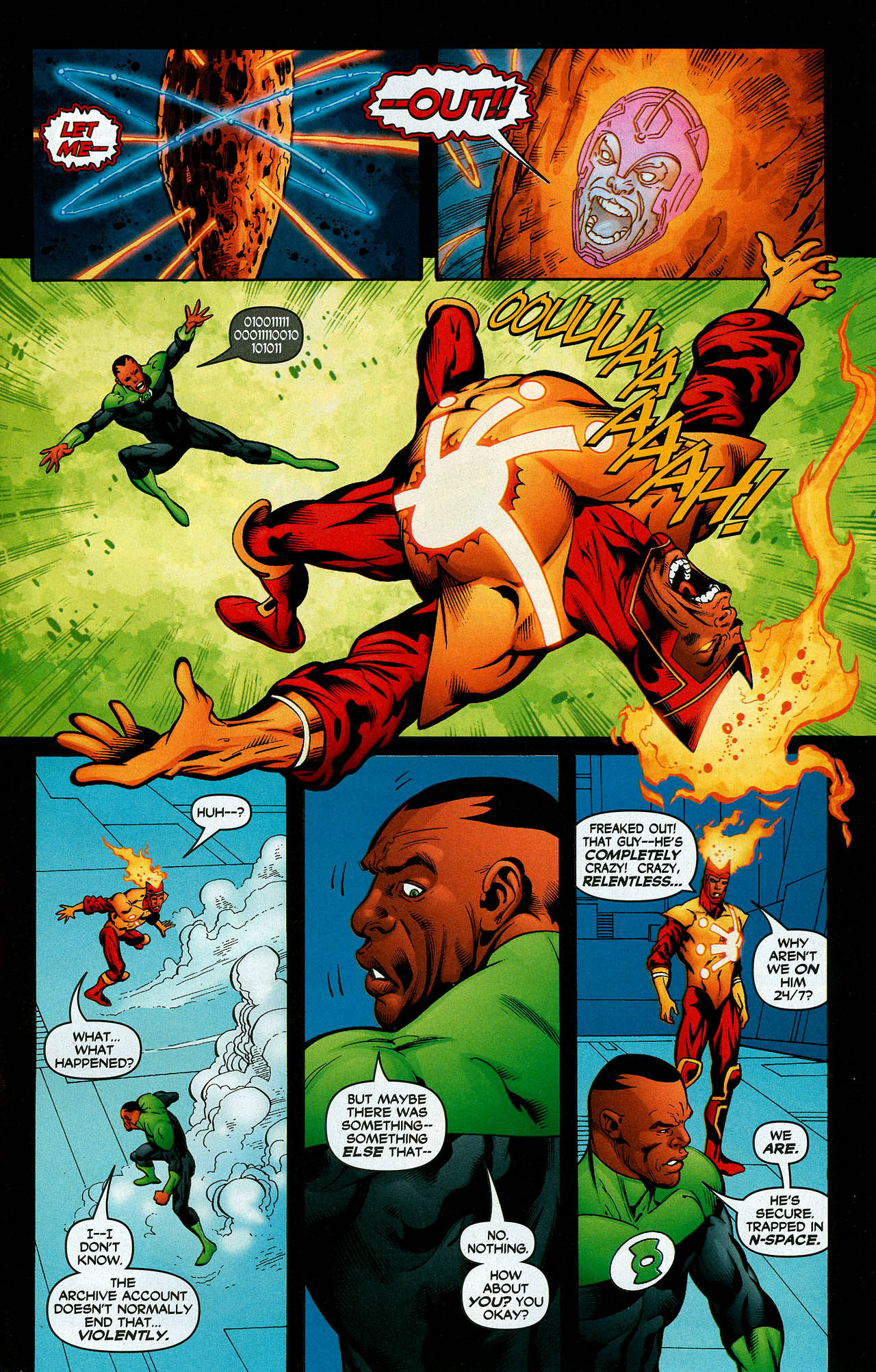 Read online Trinity (2008) comic -  Issue #7 - 29