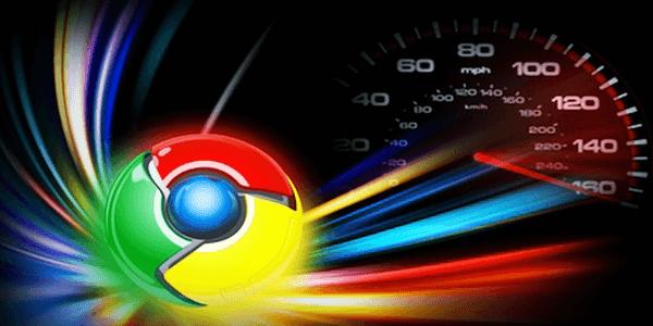 زيادة سرعة التحميل في جوجل كروم