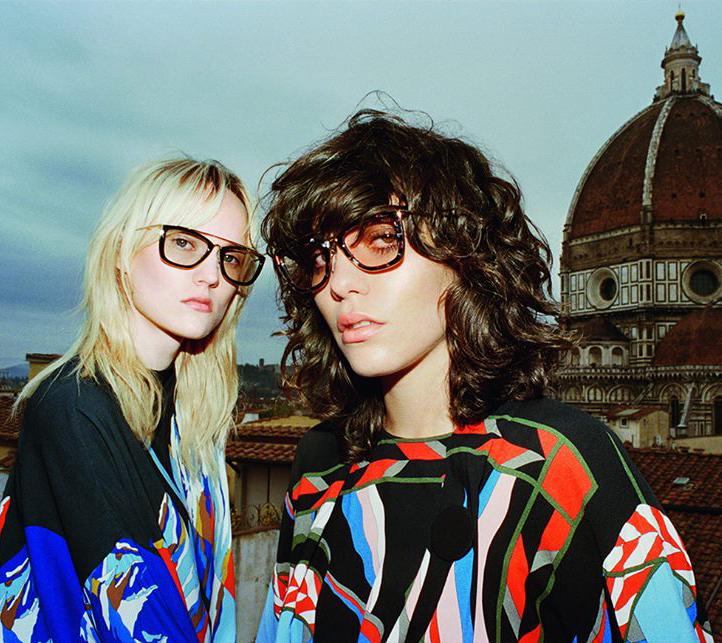 Steffy Argelich & Harleth Kuusik for Emilio Pucci Autumn/Winter 2016 Campaign