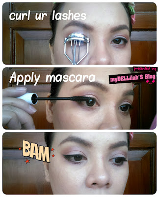 apply mascara